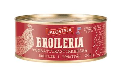 Jalostaja Broileria tomaattikastikkeessa 200g