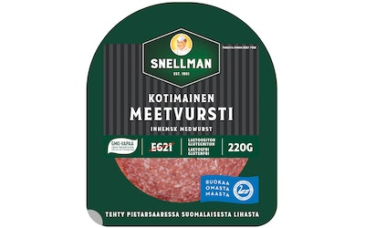Snellman Kotimainen meetvursti 220 g
