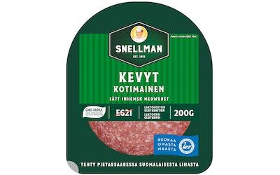 Snellman Kevyt kotimainen meetvursti 200 g