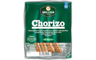 Snellman All Natural chorizo 230g