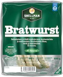 Snellman All Natural bratwurst 230g