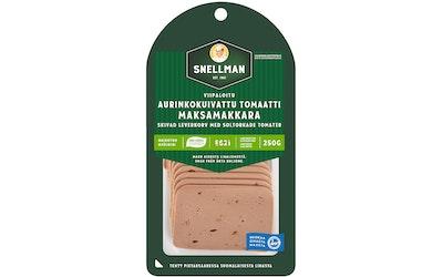 Snellman Viipaloitu aurinkokuivattu tomaatti maksamakkara 250 g