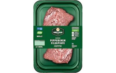 Snellman naudan pippurinen fileepihvi 2kpl/360g