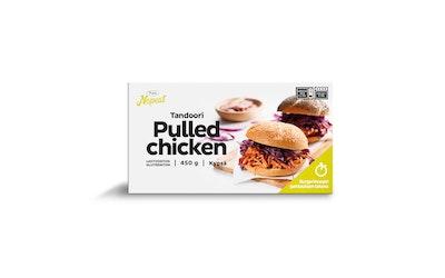 Pouttu Pulled chicken Tandoori 450g kypsä