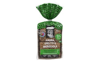 Rosten Siemen Rapeat siemennäkkileipä 250g kaura, speltti & merisuola