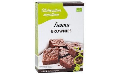 Gluteeniton maailma Luomu brownies jauho 400 g