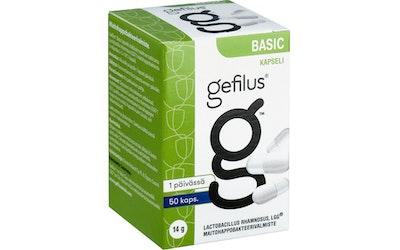 Gefilus Basic -maitohappobakteeri 50 kaps.