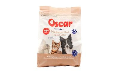 Oscar Mahapullat täydennysravinto  koirille ja kissoille 1kg pakaste
