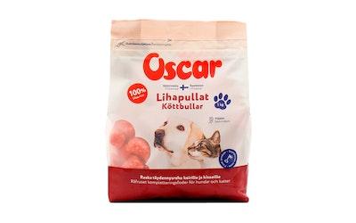 Oscar Lihapullat täydennysravinto koirille ja kissoille 1kg pakaste