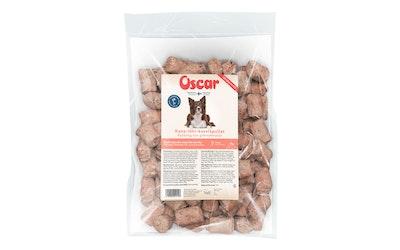 Oscar Kana-lohi-kasvispullat koirille 1kg pakaste