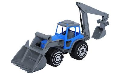 Plasto Kauhatraktori kaivurilla