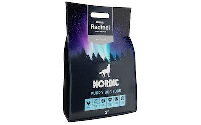 Racinel Nordic Puppy kuivaruoka pennuille 3 kg - kuva