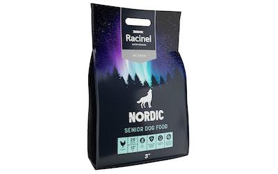 Racinel Nordic kuivaruoka seniorikoirille 3 kg - kuva