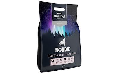 Racinel Nordic ruoka aktiivisille koirille 3 kg - kuva