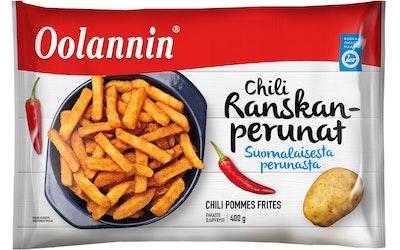 Oolannin chili ranskalaiset 400g pakaste