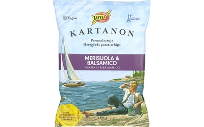 Taffel Kartanon lastu 180g merisuola&balsamico