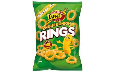 Taffel cheese onion rings 160g