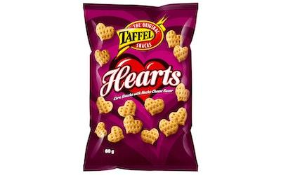 Taffel Hearts maissisnacks 60g