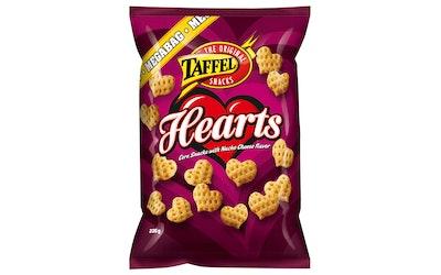 Taffel Hearts maissisnacks 235g
