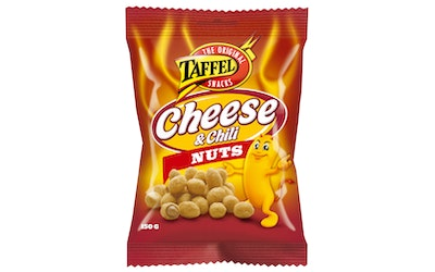 Taffel cheese&chili nuts 150g