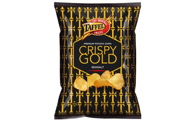 Taffel Crispy Gold 160g merisuola perunalastu