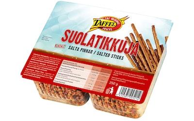Taffel Suolatikut 250g leivottu snacks