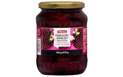Pirkka punajuuriviipaleet mausteliemessä 700g/470g