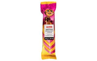 Pirkka Amppari mansikka- sitrus juomajää 83g - kuva