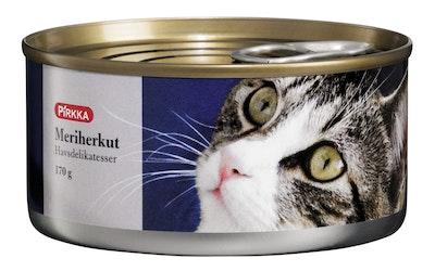 Pirkka kissan meriherkut 170 g