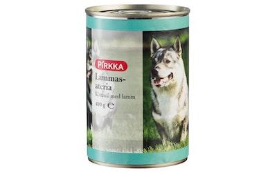 Pirkka koiran liha-ateria lammas 400g