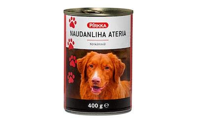 Pirkka koiran liha-ateria 400 g