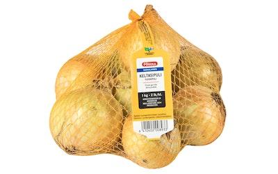 Pirkka suomalainen keltasipuli 1 kg 2 lk