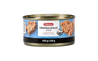 Pirkka tonnikalapalat vedessä 200g/150g