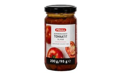 Pirkka aurinkokuivattu tomaatti 200/95g