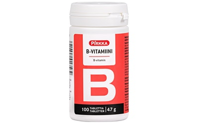 Pirkka B-vitamiini 100kpl 47g