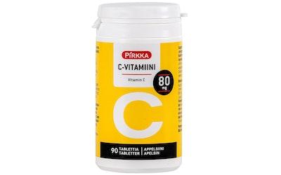 Pirkka C-vitamiini 80mg 90kpl/46g