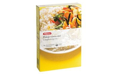 Pirkka pitkäjyväinen riisi 1kg
