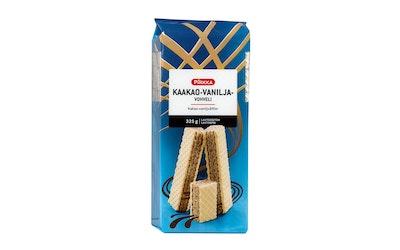 Pirkka vaniljanmakuinen kaakaovohveli 325g