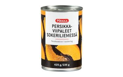 Pirkka persikkaviipaleet sokeriliemessä 425/235g