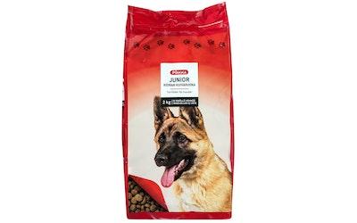 Pirkka junior koiran kuivaruoka 2kg