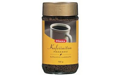 Pirkka kofeiiniton pikakahvi 100 g