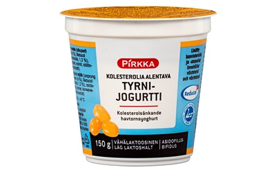 Pirkka Reducol kolesterolia alentava jogurtti tyrni 150g