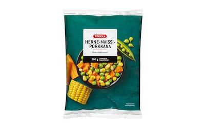 Pirkka herne-maissi-porkkana 200 g pakaste