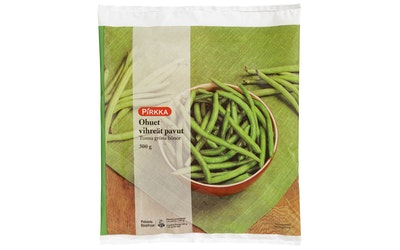 Pirkka vihreä ohut papu 300 g pakaste