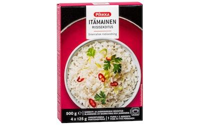 Pirkka itämainen riisisekoitus 4x125g