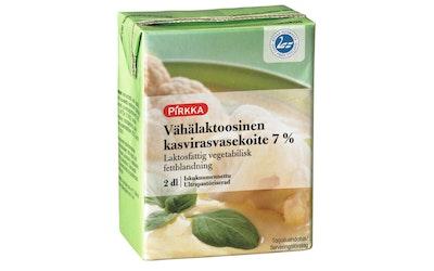 Pirkka kasvirasvasekoite 7% vähälaktoosinen 2dl