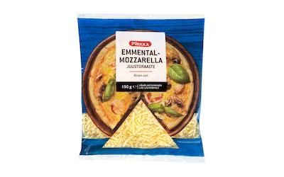 Pirkka emmental-mozzarella juustoraaste 150 g