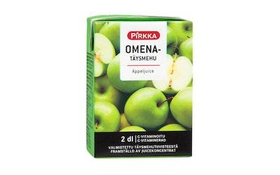 Pirkka omenatäysmehu 2 dl