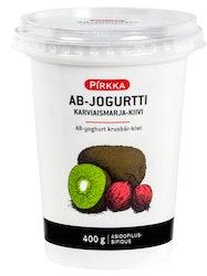 Pirkka AB-jogurtti 400g kiivi-karviaismarja