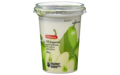 Pirkka AB-jogurtti 400g omena-päärynä